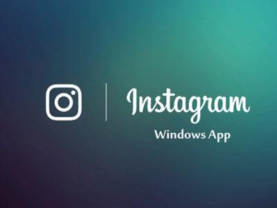 Instagram App For Windows 10